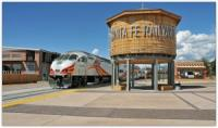 NM Rail Runner Santa's Village